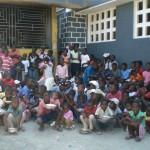 Enfants en attente-Cantine