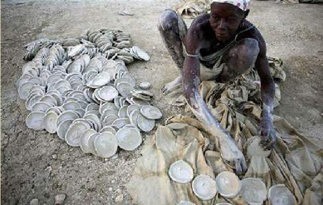 People Of Haiti Eat Mud Cookies To Survive.